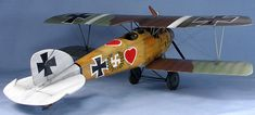 Albatros D.III by Brad Cancian (Roden 1/32) The kit is painted in the markings of Ltn Werner Voss, Jasta 5, June 1917.