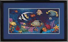 Tropical Fish - 1/6 Solo Patrones Punto Cruz (pág. 367) | Aprender manualidades es facilisimo.com
