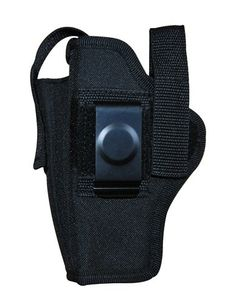 Black Ambidextrous Belt Holster with Pouch Size 14 * Be sure to check out this awesome product.