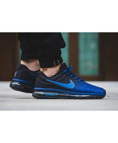 huge discount 9eb9f ef458 Nike Air Max 2017 Deep Royal Blue Black Uk Trainers