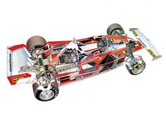 racing car cutaway - Google Search