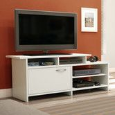 Found it at Wayfair - Step One Pure White TV Stand