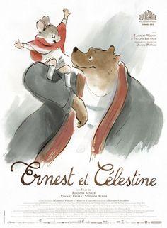 Ernest et Célestine est un film de Benjamin Renner avec Lambert Wilson, Pauline Brunner. Synopsis : Dans le monde conventionnel des ours, il est mal vu de se lier d'amitié avec une souris. Et pourtant, Ernest, gros ours marginal, clown et musicien, v