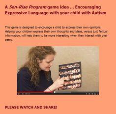 Autism Treatment Center of America Son-Rise Program Video