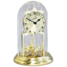 """This product is temporarily out of stock, please call for availability. Loricron offers The 9"""" Time Only, German Anniversary Clock featuring a zodiac dial German quartz movement Anniversary Clock with roman numerals. This one of Loricron's finest Quartz time only Anniversary Clocks. Loricron Anniversary Clocks are truly the finest quality Germany has to offer. http://www.theclocksshop.com"""