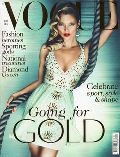 Kate Moss for Vogue UK - June 2012