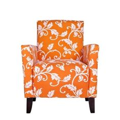 Best Orange Furniture and Decor for Home 2012 Orange Furniture, Vintage Furniture, Orange Home Decor, Love Chair, Orange House, Swinging Chair, My New Room, Living Room Chairs, Accent Chairs