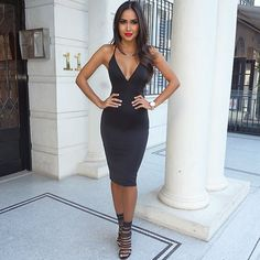 """21.1k Likes, 462 Comments - Dilya Diaz (@diazdilya) on Instagram: """"Date night in LBD by @mura_boutique #muraboutique"""""""
