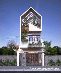 Minimal House Design, Modern Small House Design, Modern Minimalist House, Tiny House Exterior, Modern Exterior House Designs, 3 Storey House Design, Bungalow House Design, Villa Design, Facade Design
