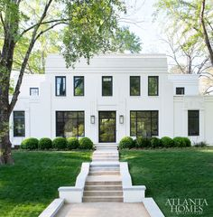 Gorgeous Art Deco style home in Houston,Tx Featured in Atlanta Homes & Lifestyles.