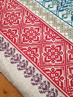 Cross Stitch Bookmarks, Cross Stitch Borders, Cross Stitch Art, Cross Stitch Designs, Cross Stitching, Cross Stitch Patterns, Wool Embroidery, Hand Embroidery Patterns, Cross Stitch Embroidery