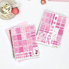 Fight Like a Survivor Printable Planner Stickers Mini Kit A mini kit of 125 printable stickers designed to coordinate with the vertical layout of the Erin Condren Life Planner for breast cancer awareness month. All designs are scaled to fit within the weekly boxes. But can be used with any planner of your choice.
