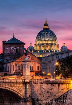 thisismyitaly:   Basilica S.Pietro - Roma da Otto Gal