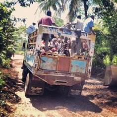 Haiti..Ohhh the tap taps. We gotta save up for this. I want to go next year. @I