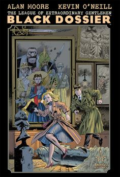 The Black Dossier - Alan Moore, Kevin O'Neil