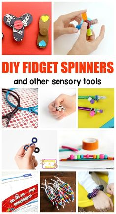 DIY Fidget Spinner — All for the Boys Don't waste money on buying fidgets for the classroom. Instead, make these DIY fidget spinners and fidgets for kids to use perfect for teaching ADHD. Adhd Activities, Art Therapy Activities, Activities For Kids, Activity Ideas, Crafts For Kids To Make, Projects For Kids, Craft Projects, Kids Crafts, Fun Toys For Kids