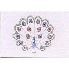 Peacock Prick and Stitch e-pattern