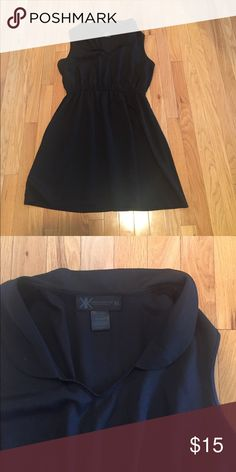 Kardashian Kollection Dress Black sleevles Kardashian Kollection dress. Only worn twice. In great condition. Very light. Can dress it up or dress it down! Kardashian Kollection Dresses