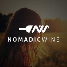 Nomadic Wine logo design