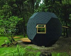 Manuel Villa's Habitable Polyhedron – A Family Garden Retreat | Inhabitat - Sustainable Design Innovation, Eco Architecture, Green Building / The Green Life <3