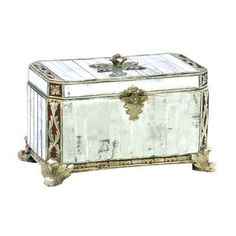 Sterling Industries Panelled Mirror Box