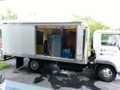 carpet clean, 777 truckmount, 1999 aerotechvortex, clean van, aerotechvortex 777