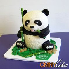 Panda Cake - CMNY Cakes