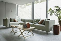 6400 Sofa by Gelderland. Available @ Van der Vlist Interieur Alblasserdam The Netherlands Tight Back Sofa, Build My Own House, Green Rooms, Living Room Sofa, Architecture, Home And Living, Living Room Designs, Outdoor Furniture Sets, Furniture Design
