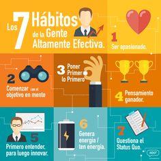 7 hábitos de la gente altamente efectiva #ideas