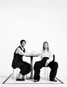 Saskia de Brauw and Julia Nobis by Willy Vanderperre for W Magazine December January 2015-2016