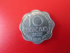 SRI LANKA 10 CENTS 1978. COIN -2.