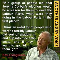 Ken Livingstone on Jeremy Corbyn