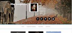 Ejemplo de diseño web para un blog fotográfico. Diseño web realizado en Wordpress y Génesis framework