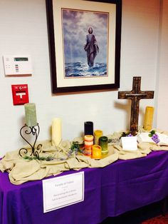 TABLESCAPE: Holiness Table Passion Week By Liz Law