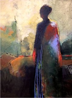 """Kathy Jones, Coming Home  oil on canvas, 48""""x36"""""""