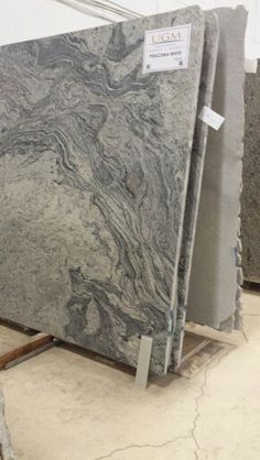 Granite Ocean Fantasy Kinawa Bianco White Piracema Slabs Kitchen