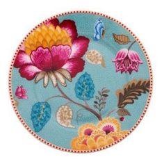 Pip Studio Fantasy blue cake plate