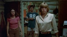Adrienne King and Jeannine Taylor in Friday the 13th (1980)