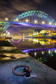 The Tyne Bridge on a cold, january evening. Newcastle England, Newcastle United Fc, Reflection Photography, Photography Themes, Newcastle Cathedral, Newcastle Quayside, Northern Exposure, North East England, Sea And Ocean