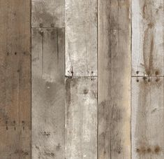 Tempaper ft Weathered Vinyl Wood Self-Adhesive Peel and Stick Wallpaper at Lowe's. Repurposed Wood Weathered, created by images taken from reclaimed warehouse wood, will create a weathered lumber look in a natural wood colorway. Look Wallpaper, Wallpaper Samples, Peel And Stick Wallpaper, Wooden Wallpaper, Reclaimed Wood Wallpaper, Wallpaper Backgrounds, Textured Wallpaper, Interior Wallpaper, Brown Wallpaper