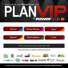 Los mejores beneficios  con las mejores empresas con tu #PlanVIP @PowerClubPANAMA inscríbete y disfruta de todos los descuentos #Panama