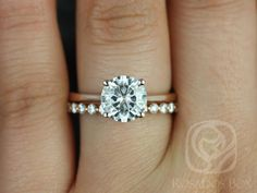 The simplicity is perfection. Just keep stacking different metals and different shaped diamonds