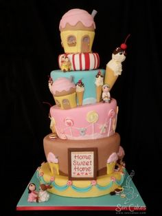 Cake Wrecks - Home - Sunday Sweets: Sweet Treats Fondant Cakes, Cupcake Cakes, Cake Story, Biscuits, Cake Wrecks, Candy Cakes, Novelty Cakes, Love Cake, Sweet Cakes