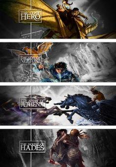 The Lost Hero - The Son of Neptune - The Mark of Athena - The House of Hades
