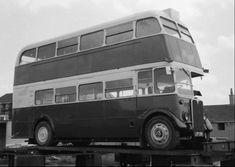 kept in quite good condition compared to some of Lloyds buses,,photographer not known. Rt Bus, Routemaster, Double Decker Bus, London Bus, Steam Cleaners, London Transport, Buses, Transportation, Conditioner