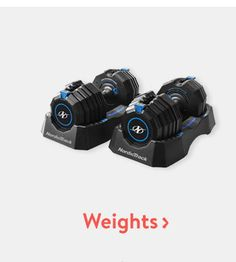 Keep in shape with weights