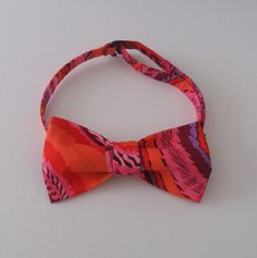 Exclusive bow tie Bow tie Bow tie for boy Bow tie for man Kaffe Fassett bow tie by MagicThreadByNatalia on Etsy