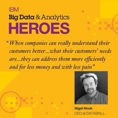 #BigData & #Analytics Heroes: Nigel Hook