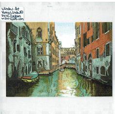 Venice from the Window - Window Art Vj Art, Window Art, Worlds Largest, Venice, Windows, Painting, Ebay, Venice Italy, Painting Art
