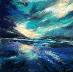 "felt ""painting"" by Moy Mackay"